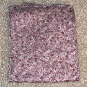 Nordstrom Accessories - Pink Floral Infinity Scarf